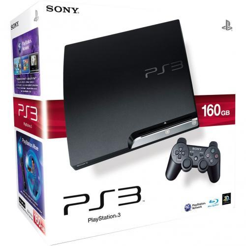 Sony PlayStation 3 Slim Konsole (160 GB Model)