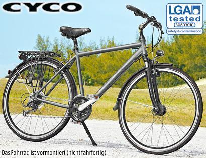Damen-/Herren-Trekkingrad bei Aldi Süd für 249 Euro