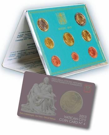 Vatikan Original KMS 2013 für nur 59,- EUR inkl. Versand