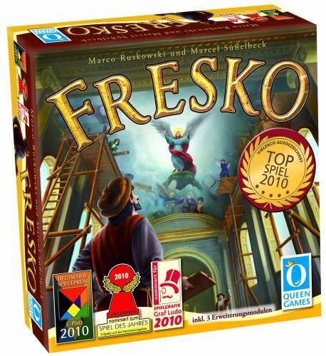 (Amazon) Gesellschaftsspiel Fresko Queen Games 60591