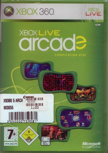 [lokal Bremen] Xbox Live Arcade Compilation (5 Xbox Live Arcade Games) 1€ bei Conrad