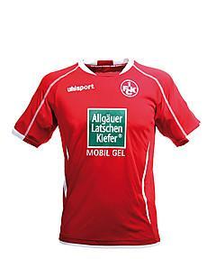 1.FCK Trikots Saison 2012/13 inklusive Trikot-Beflockung