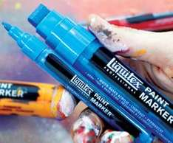 Liquitex Marker, Spray und Acrylfarbe gratis