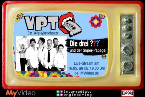 VOLLPLAYBACKTHEATER Livestream am 16.05.13