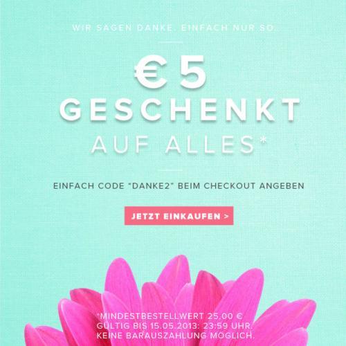 5€ Flavs.de ab 25€ MBW (bis 15.05, 23:59)