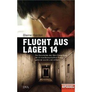 """Buch """"Flucht aus Lager 14"""" von Blaine Harden über die Flucht eines Nordkoreaners"""