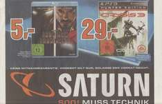 [Saturn Lokal Köln] Iron Man & Iron Man 2 Collector´s Edition Blu-ray für 5€