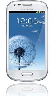 Samsung Galaxy S3 mini in weiß für 199€ bei Base