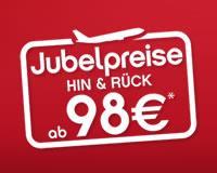 Nur bis Morgen: Air Berlin Jubelpreise Aktion - Flüge in den Sommerferien reduziert!