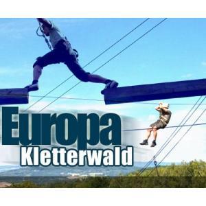 Klettern im Europa Kletterwald in Steinau