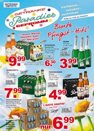 [Lokal] Brinkhoffs No. 1 im Getränke Paradies Gefromm für 7,99 Euro