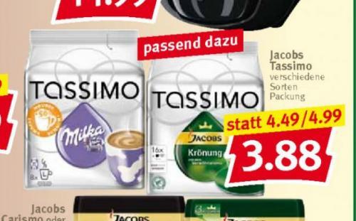 [Combi ] offline  Tassimo T-Discs 3,88 Euro bis Samstag 18.05.2013