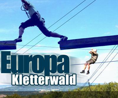 Europa Kletterwald für 11€ - Ersparnis 50%