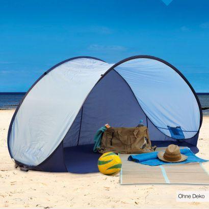 PopUp-Strandmuschel in zwei Farben (220x120x100) für €14,99 [@Aldi-Nord]
