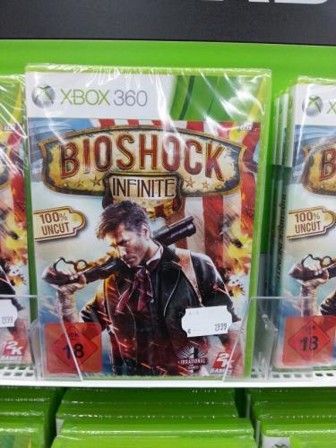 (lokal) Saturn Hilden Bioshock infinite für xbox360 oder PS3 für jeweils 29,99