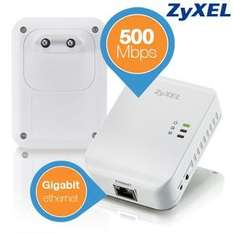 Zyxel 500 Mbps Powerline Starter Kit PLA4205 für 45,90 € @Ibood
