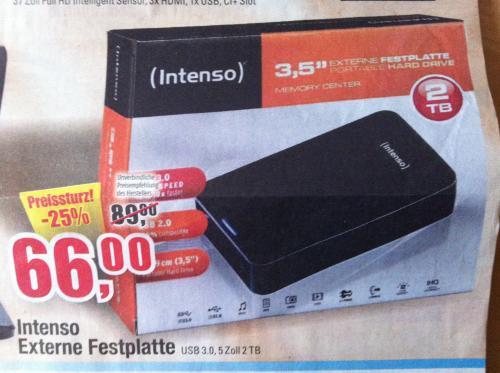 [Lokal HH?] 2TB USB 3.0 66€