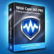 Wise Care 365 Pro Version 2.45 - Win XP/Vista 7/8 - kostenlos bis 19.05.2013