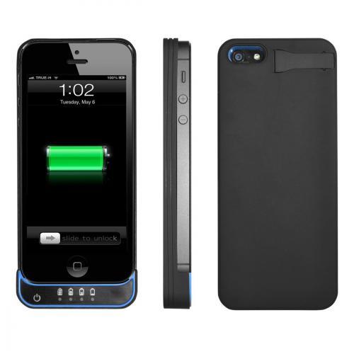 Swees® Iphone 5 Hartschale mit integriertem Akku (3600 mAh) für 17,44€ @Amazon