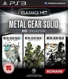 (UK) Metal Gear HD Collection [PS3] für 15.35€ @ Zavvi