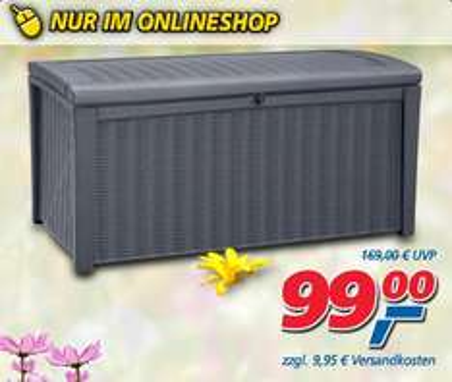 XL-Rattan-Kissenbox Borneo für 108,95 € @ real.de