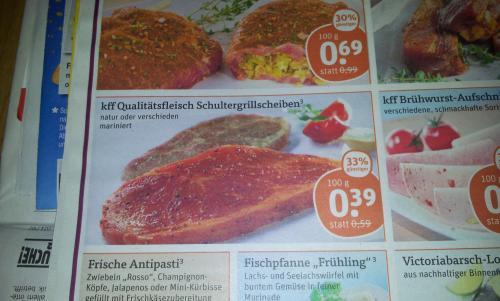 @Tegut kff Schultergrillscheiben natur oder verschieden mariniert 100g 0,39€      33%off