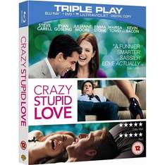 Blu-Ray - Crazy, Stupid, Love (2 Discs) für €5,29 [@Wowhd.co.uk]