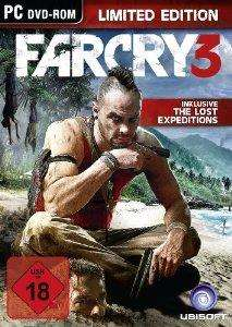 -PC- Far Cry 3 + Lost Expeditions (Limited Edition+Uncut)@ebay.de
