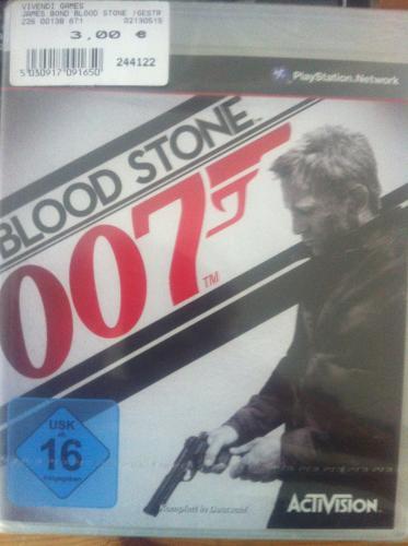PS 3 - Blood Stone 007  (Gunstringer; Joyrider Xbox360) für 3,- Euro im Expert (lokal Nürnberg)