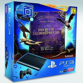 (Österreich) SONY PS3 Super Slim 12GB + Wonderbook Starter Pack für 155 €