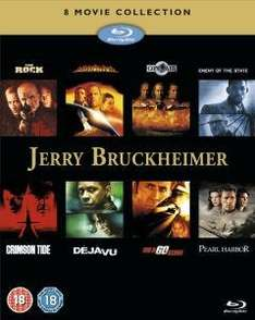 Jerry Bruckheimer Action Collection [8 Filme auf 5 Blu-Rays] @ Zavvi