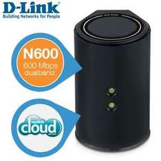 DIR-826L D-Link Cloud Gigabit Router N600 Dual Band für 55,90€ @ iBood