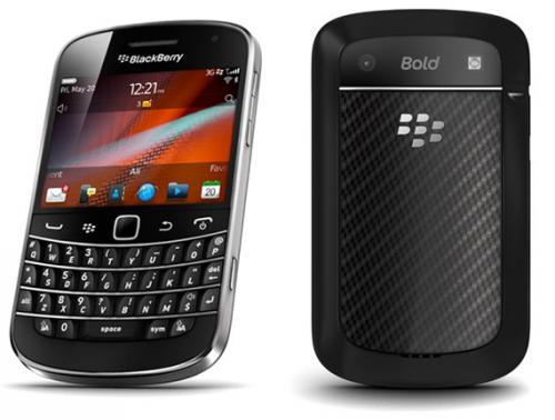 BlackBerry Bold 9900 8GB in Schwarz für nur 325,- EUR inkl. Versand
