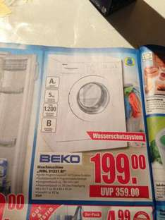 [Edeka Center] BEKO Wachmaschine A+ 199€