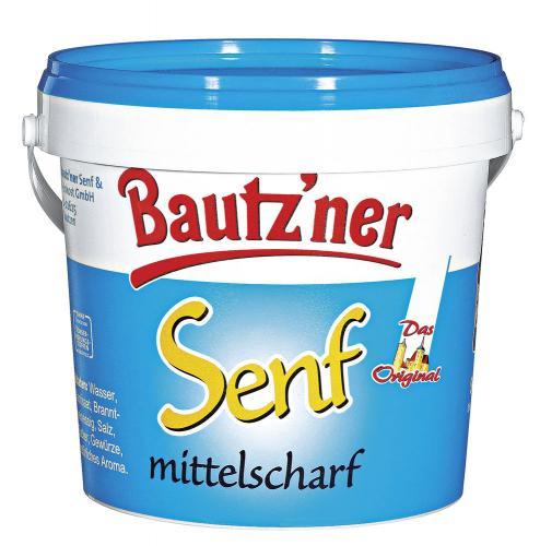 [Offline TOOM] Bautz'ner Senf mittelscharf 1-kg-Eimer