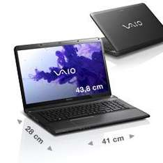 Sony Vaio VAIO E17 - Refurbished -  i5-3210M - Full HD - 6 Gb RAM für 494,10