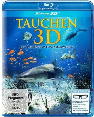 Tauchen 3D - Faszinierende Unterwasserwelten [3D Blu-ray]  AMAZON.DE
