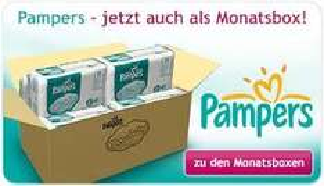 Pampers Monatspack Größe 3 bis 6 für 36,47 €
