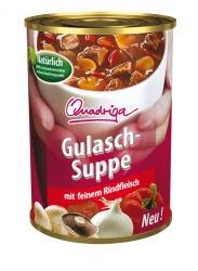 Gulaschsuppe von Quadriga und andere Suppen als Sonderposten (ab 0,50 € + Versand)