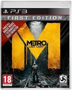 Metro Last Light First Edition PS3 für 35,98 € inkl. Versand