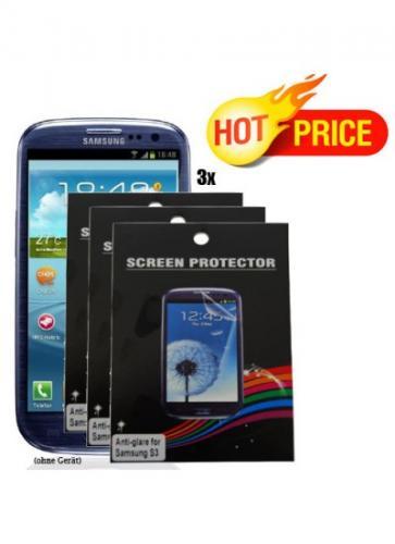 3x SP Displayfolie für Samsung Galaxy S3 i9300 inkl. Versand nur 2,99€