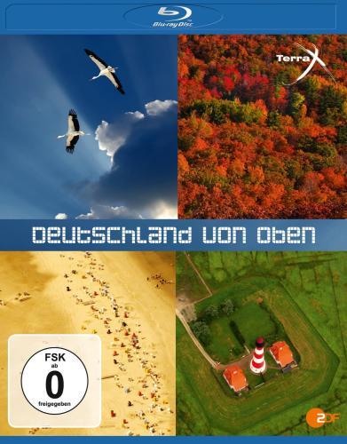 Terra X: Deutschland von oben 1 & 2 (Blu-ray) ohne VSK für 8,99 € @ jpc.de