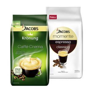 3x 1kg Jacobs momente oder Krönung ganze Bohnen. Inklusive 10 € Congstar (=10 € Steamguthaben)