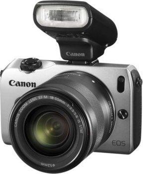 Canon EOS M inkl. EF-M 18-55mm und Speedlite 90EX Kit für 349,99 € @Avides