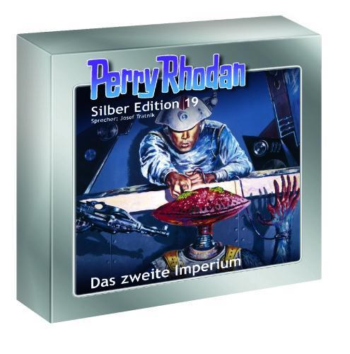 Perry Rhodan, Silber Edition - Das zweite Imperium, 12 Audio-CDs @Weltbild