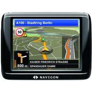 Expired: Navigon 20 Plus Zentraleuropa Navigationssystem (8,9 cm (3,5 Zoll) Display, Europa 20, TMC, Annäherungssensor, TMC Sprachansage, Text-to-Speech, Fußgänger-Navigation, hochwertiges Gehäuse) @amazon.de