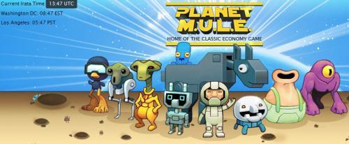 *** [PC-Download] Videospielklassiker M.U.L.E. (C64) Wirtschaftsimulation ähnlich wie DIE SIEDLER GRATIS ***