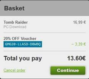 [Steam] Tomb Raider für 13,60€ bei GMG