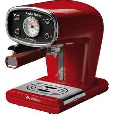 Ariete Cafè Retro Siebträgermaschine für 105,29 @Amazon.it