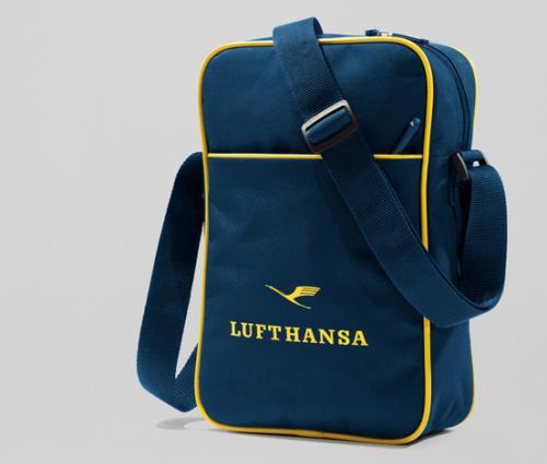 Lufthansa Umhängetasche für A4 Dokumente, iPad oder Tablet für 5 € + Versand
